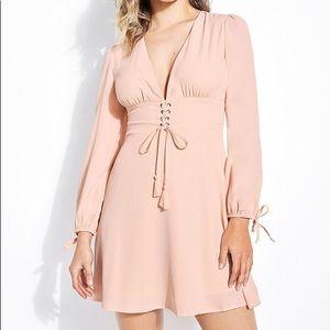 Pink Guess Corset Dress